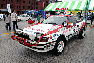Toyota Motorsport GmbH - Toyota Celica GT-Four ST165 Group A in Safari Rally trim