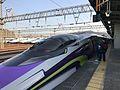 Train of Hakata-Minami Line at Hakata-Minami Station.jpg