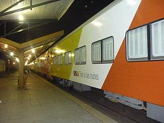 Salta–Antofagasta railway - Image: Train to the clouds in Salta ARGENTINA 001