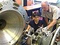 Training on the Soyuz docking system in July (6115411209).jpg