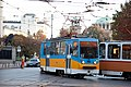 Tram in Sofia near Palace of Justice 2012 PD 020.jpg