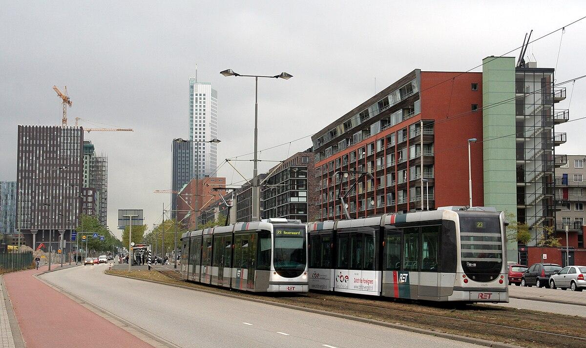 Tramlijn 23 rotterdam wikipedia for Wijk in rotterdam