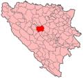Polo�aj naselja Travnik