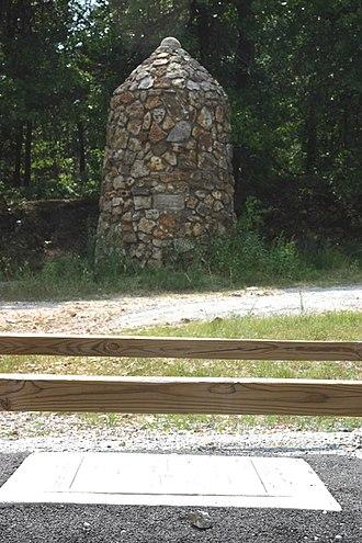 Cherokee County, Kansas - Image: Tri state markers 2006 07 03