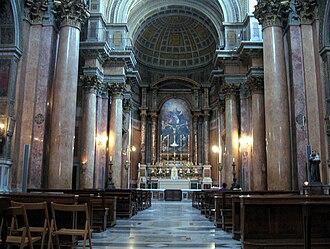 Santissima Trinità dei Pellegrini, Rome - Interior