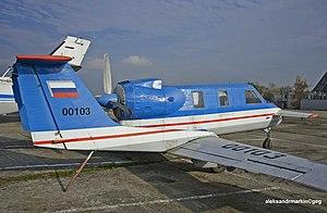 Three-surface aircraft - Molniya-1