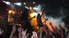 Trivium in april 2007.
