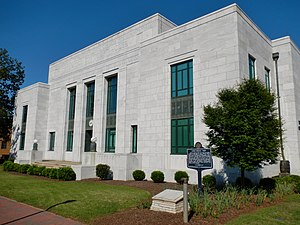 LaGrange, Georgia - Image: Troup County, Georgia Courthouse, Annex, and Jail