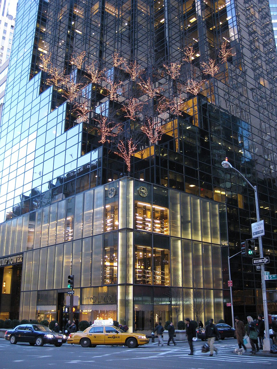 Trump Tower - lower part