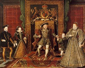 From Left to Right: Mary I & Philip II of Spai...