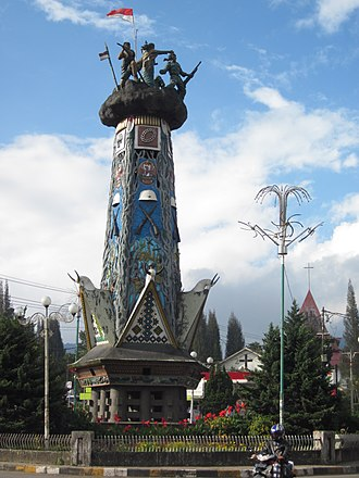 Berastagi - Heroic Monument, Berastagi