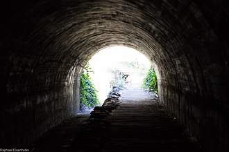 Belair National Park - Tunnel at Belair National Park