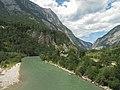 Tussen Tenneck en Pass Lueg, panorama mer de Salzach foto2 2011-07-17 14.29.JPG