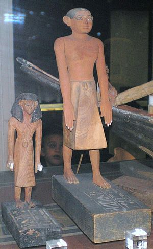 Tomb of two Brothers - Statuettes found in the tomb