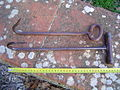 Two hay hooks with scale 1.JPG
