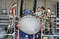 U.S. Air Force Tech. Sgt. Ken Monroe gives an F-16 block 52 tour to Civil Air Patrol cadets from South and North Carolina.jpg