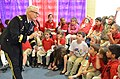 U.S. Army Maj. Gen. Peter Lennon, the commanding general of the 377th Sustainment Command, reads to a first-grade class at the Cypress Cove Elementary School in Slidell, La., March 22, 2013 130322-A-PT355-056.jpg
