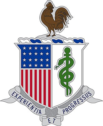 Nadja West - Image: U.S. Army Medical Department Regimental Insignia