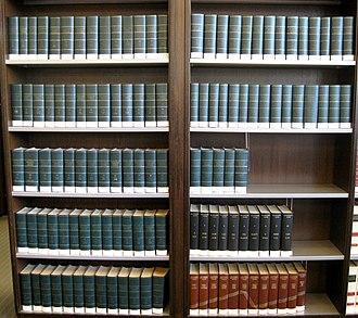 Enciclopedia universal ilustrada europeo-americana - 102 volumes of the encyclopedia.