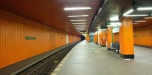 Halemweg (Berlin U-Bahn) - U-Bahn station Halemweg