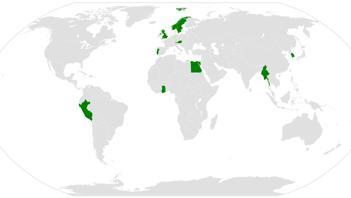 A map showing which nations have had a national serving as Secretary-General of the United Nations UNSG map.png