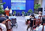 USAID Project Supports Rehabilitation Department for Children and Wheelchair Distribution in Danang (9305253798).jpg