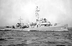 USCGC Argo (WPC-100) underway during World War II.jpg