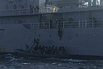 USS Arlington's VBSS team takes to the water 150620-M-WI309-310.jpg