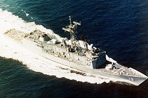USS John A. Moore (FFG-19) - USS John A. Moore FFG-19.