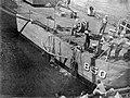 USS Joseph P. Kennedy Jr. (DD-850) at Barcelona, Spain, in June 1957.jpg