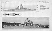 USS Nevada (BB-36) specs