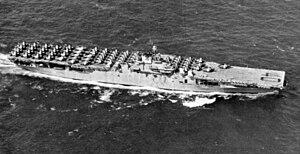 USS Tarawa (CV-40) - USS Tarawa in 1946