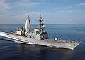 US Navy 021127-N-3653A-004 Spruance-class Arthur W. Radford steams through the Mediterranean Sea.jpg