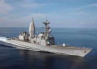 USS Arthur W. Radford - USS Arthur W. Radford in the Mediterranean Sea.