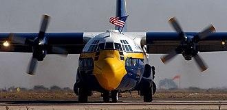 """Miramar Air Show - Blue Angels' """"Fat Albert"""" C-130"""