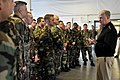 US Navy 090218-N-8273J-111 Chief of Naval Operations (CNO) Adm. Gary Roughead speaks with Sailors assigned to Explosive Ordnance Disposal Unit (EOD) 11 during an all-hands call while visiting Naval Air Station Whidbey Island.jpg