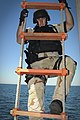 US Navy 091116-N-1522S-011 A Sailor climbs the Jacob's ladder during a visit, board, search and seizure exercise.jpg