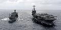 US Navy 110519-N-OY799-487 The Nimitz-class aircraft carrier USS John C. Stennis (CVN 74) transits the Pacific Ocean alongside the Military Sealif.jpg