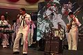 US Navy 110708-N-FP123-338 Musician 1st Class Christopher Sams, assigned to the U.S. 7th Fleet band, Orient Express, sings.jpg