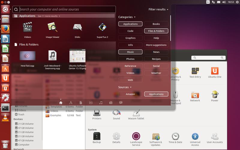 Ubuntu 13.10 Desktop File:Ubuntu 13.10 Desk...