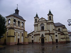 History of Ivano-Frankivsk - The city's Art Museum on the Sheptytsky Square (former Parish Church of Virgin Mary)