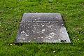 Ulm Neuer Friedhof Grabplatte Peter Wackernagel 2010 03 30.jpg
