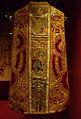 Una de les peces pertanyents al Tern de la Transfiguració, una casulla, dues dalmàtiques, dos collets, una estola i dos maniples; segles XV-XVI, església de la Tranfiguració d'Ibi.JPG