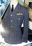 Uniform, RAF Squadron 121 (American Eagle Squadron), World War II, owned by Benjamin A. Taylor, view 2 - Oregon Air and Space Museum - Eugene, Oregon - DSC09890.jpg