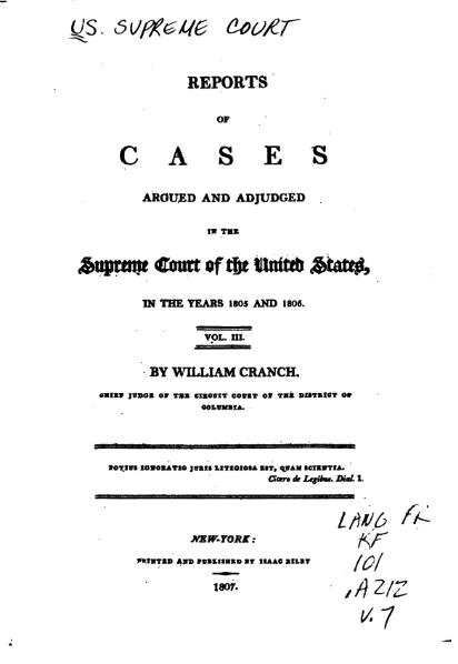File:United States Reports, Volume 7.djvu
