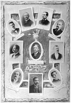 Anglo-American cable chess matches - Image: United States Team Cable Chess Match 1898