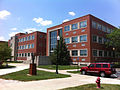 University of Indianapolis building with Jeep Commander.jpg