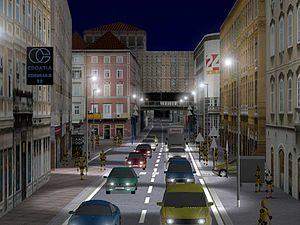 Urban Jungle (video game) - The road (Adamiceva noc).jpg