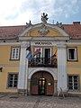 Vác Town Hall. Portal. - Hungary.JPG