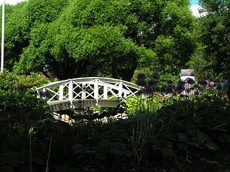 Vänortsparken - Bridge in Vänortsparken
